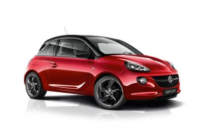 Lease Vauxhall Adam car leasing