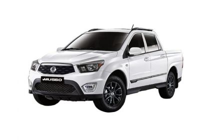 Lease Ssangyong Musso van leasing
