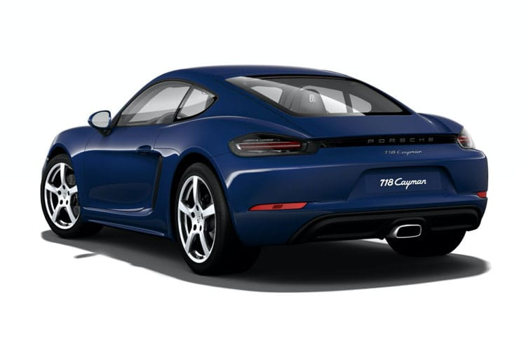 Porsche 718 Cayman Coupe 2.0 T 300PS T 2Dr Manual [Start Stop] back view
