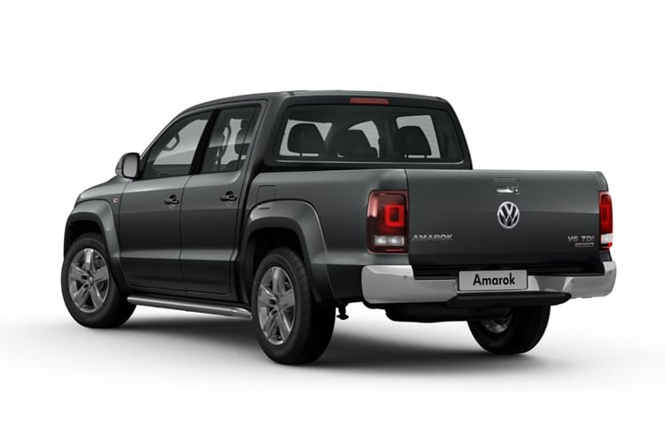 Volkswagen Amarok Pick Up DCab 4Motion 3.0 TDI V6 4WD 204PS Trendline Pickup Double Cab Auto [Start Stop] back view