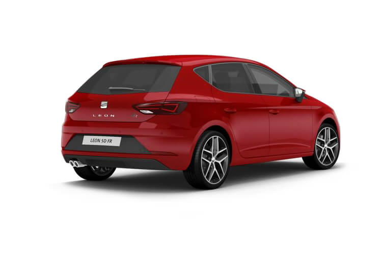 SEAT Leon Hatch 5Dr 1.0 TSI EVO 110PS SE Dynamic 5Dr Manual [Start Stop] back view