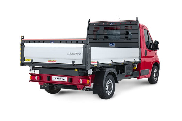 Fiat Ducato HGV 40 Maxi MLWB 2.3 Multijet Power FWD 180PS 1-Way Tipper Auto [Start Stop] back view
