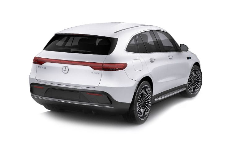 Mercedes-Benz EQC EQC 400 SUV 4MATIC E 80kWh 300KW 408PS AMG Line 5Dr Auto back view