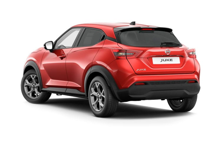 Nissan Juke SUV 1.0 DIG-T 114PS Tekna+ 5Dr DCT Auto [Start Stop] back view