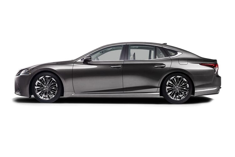 Lexus LS 500 Saloon 4wd 3.5 h V6 359PS Takumi 4Dr E-CVT [Start Stop] [Kiriko Pleat] back view