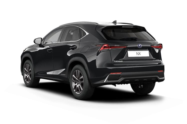Lexus NX 300h SUV 4wd 2.5 h 197PS NX 5Dr E-CVT [Start Stop] [Premium Plus] back view