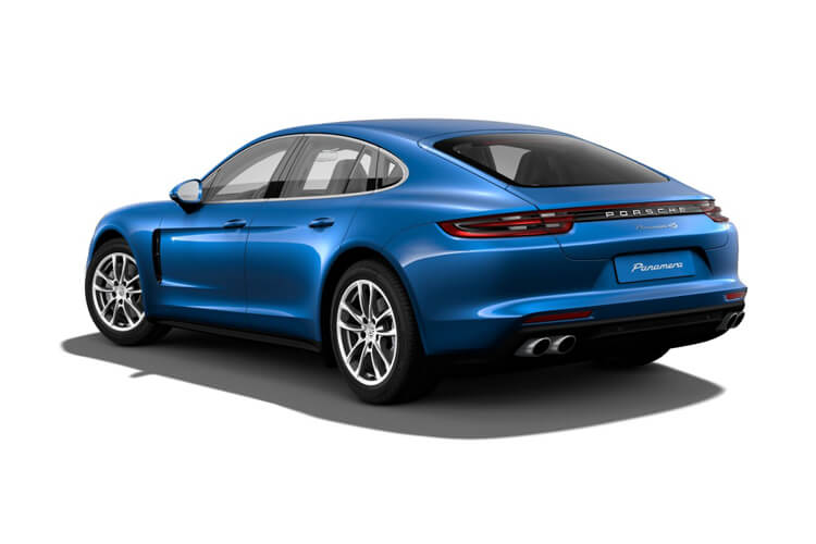 Porsche Panamera Saloon 4wd 4.0 T V8 630PS Turbo S 4Dr PDK [Start Stop] [5 Seats] back view