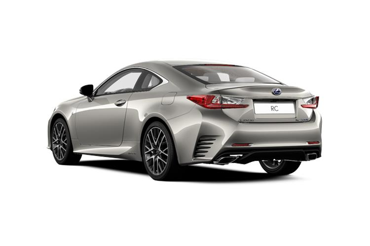 Lexus RC F Coupe 5.0 V8 463PS  2Dr Auto back view