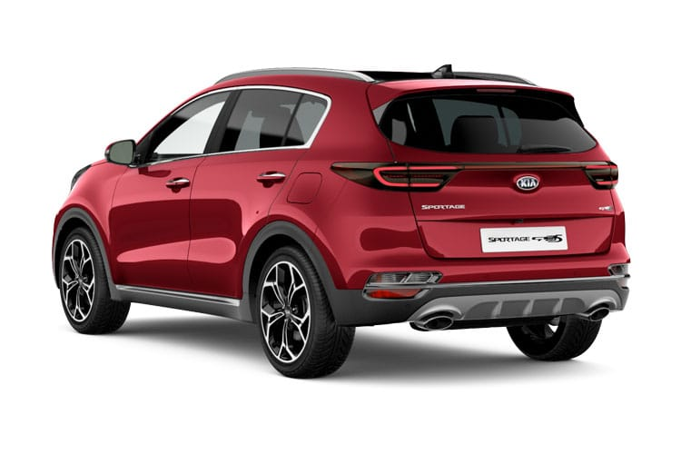 Kia Sportage SUV 2wd 1.6 GDI 130PS 3 5Dr Manual [Start Stop] back view