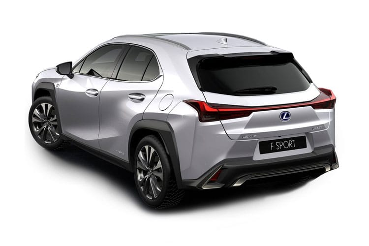 Lexus UX 250h SUV 2.0 h 184PS UX 5Dr E-CVT [Start Stop] [Prem Pro] back view