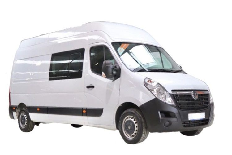 Vauxhall Movano F35 L2 2.3 CDTi BiTurbo FWD 150PS Edition Crew Van Medium Roof Manual [Start Stop] front view