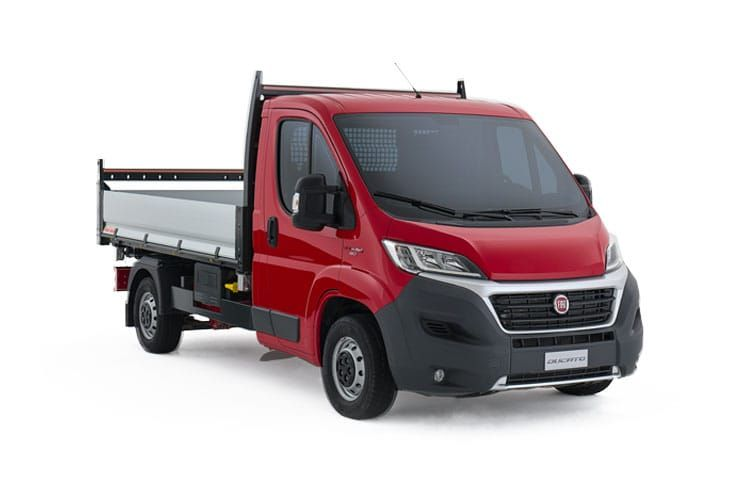 Fiat Ducato 35 MLWB 2.3 MultijetII FWD 140PS 1-Way Tipper Manual front view