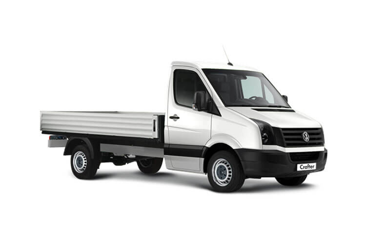 Volkswagen Crafter CR35MWB FWD 2.0 TDI FWD 140PS Startline Business Tipper Manual [Start Stop] [ETG] front view