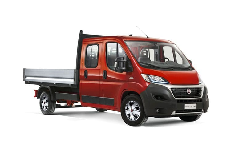 Fiat Ducato HGV 40 Maxi MLWB 2.3 Multijet Power FWD 180PS 1-Way Tipper Auto [Start Stop] front view