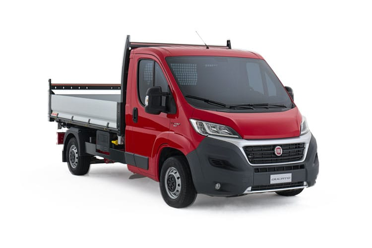 Fiat Ducato HGV 40 Maxi LWB 2.3 Multijet Power FWD 180PS  Dropside Auto [Start Stop] front view