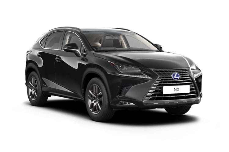 Lexus NX 300h SUV 4wd 2.5 h 197PS F-Sport 5Dr E-CVT [Start Stop] front view