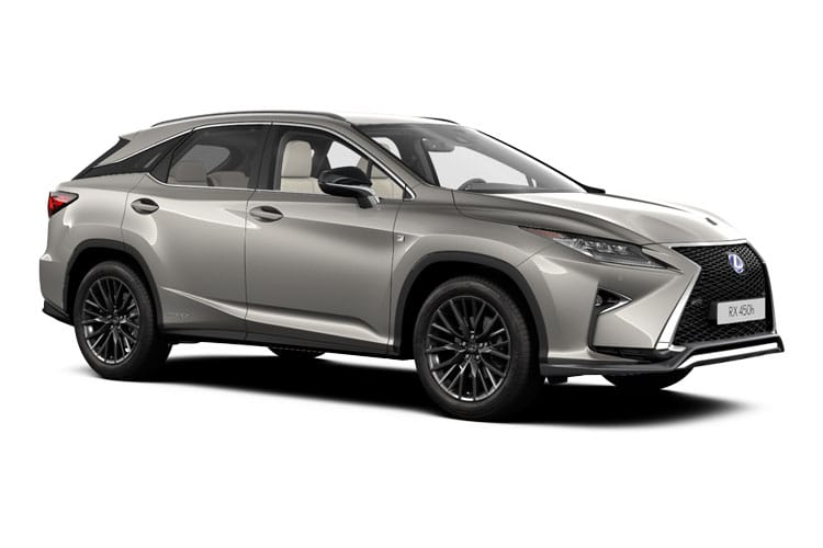 Lexus RX 450h SUV 4wd 3.5 h V6 313PS RX Prem 5Dr E-CVT [Start Stop] [Tech Safety] front view