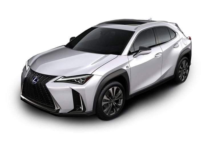 Lexus UX 250h SUV 4wd 2.0 h 184PS Takumi 5Dr E-CVT [Start Stop] front view