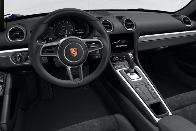 Porsche 718 Cayman Coupe 2.0 T 300PS T 2Dr Manual [Start Stop] inside view