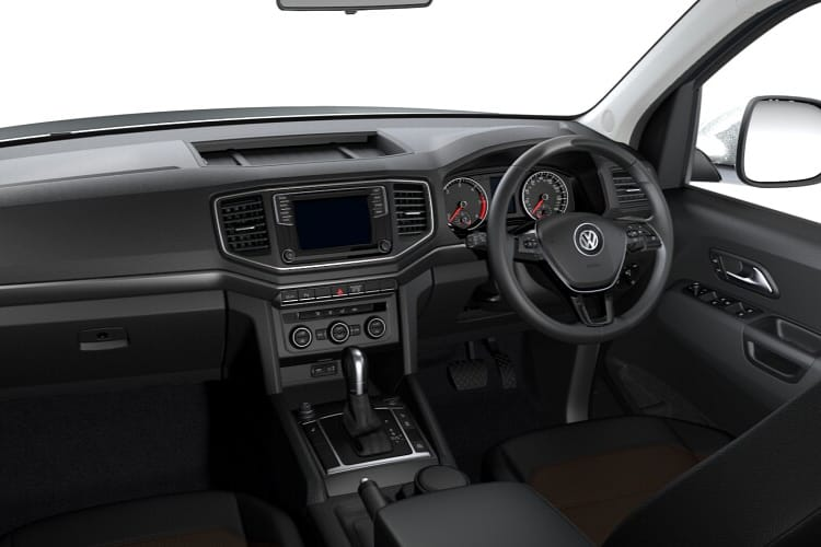 Volkswagen Amarok Pick Up DCab 4Motion 3.0 TDI V6 4WD 204PS Trendline Pickup Double Cab Auto [Start Stop] inside view