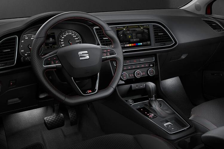 SEAT Leon Hatch 5Dr 1.0 TSI EVO 110PS SE Dynamic 5Dr Manual [Start Stop] inside view
