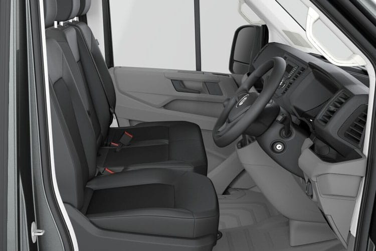 Volkswagen Crafter CR35LWB FWD 2.0 TDI FWD 140PS Startline Chassis Double Cab Auto [Start Stop] inside view