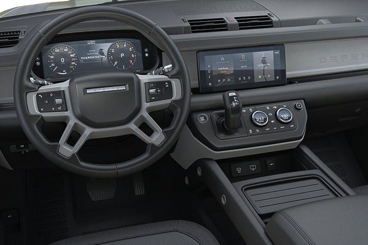 Land Rover Defender 110 SUV 5Dr 3.0 D MHEV 250PS SE 5Dr Auto [Start Stop] [6Seat] inside view