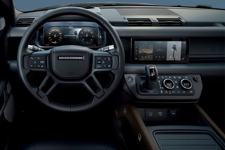 Land Rover Defender 110 SUV 5Dr 2.0 SD4 240PS S 5Dr Auto [Start Stop] [7Seat] inside view