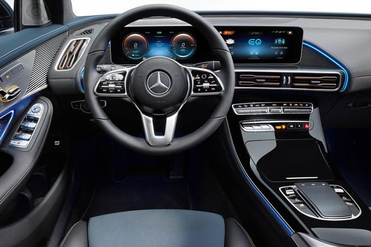 Mercedes-Benz EQC EQC 400 SUV 4MATIC E 80kWh 300KW 408PS AMG Line 5Dr Auto inside view