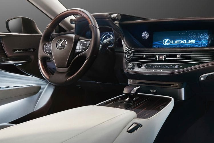 Lexus LS 500 Saloon 4wd 3.5 h V6 359PS Takumi 4Dr E-CVT [Start Stop] [Kiriko Pleat] inside view