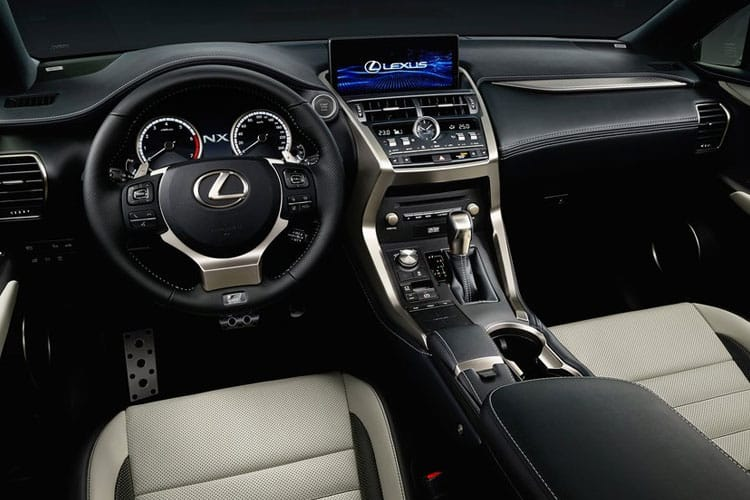 Lexus NX 300h SUV 4wd 2.5 h 197PS NX 5Dr E-CVT [Start Stop] [Premium Plus] inside view