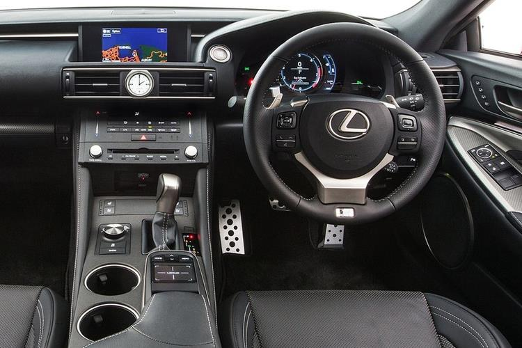 Lexus RC F Coupe 5.0 V8 463PS  2Dr Auto inside view