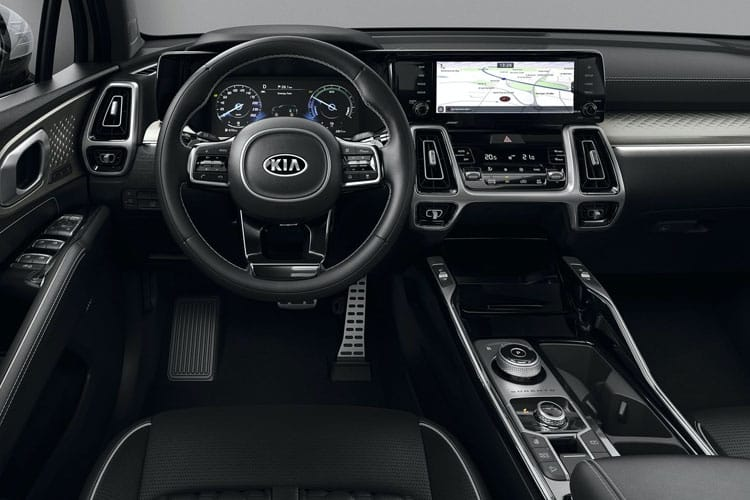 Kia Sorento SUV AWD 2.2 CRDi 197PS KX-3 5Dr Manual [Start Stop] inside view