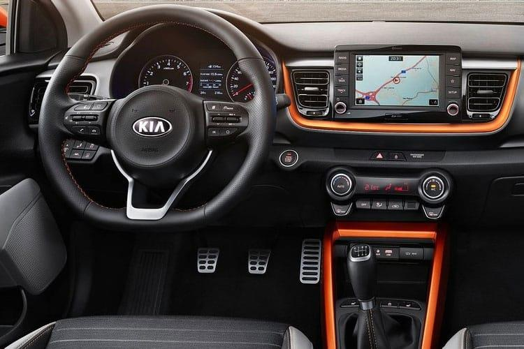 Kia Stonic SUV 5Dr 1.0 T-GDi 118PS 2 5Dr Manual [Start Stop] [ADAP] inside view