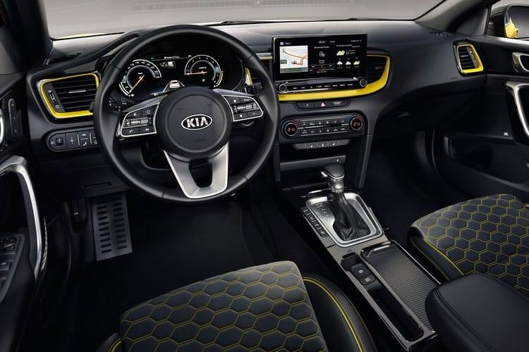 Kia Ceed XCeed SUV 5Dr 1.4 T-GDI 138PS 3 5Dr DCT [Start Stop] inside view